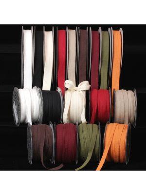 Natural Cotton Twill Ribbon