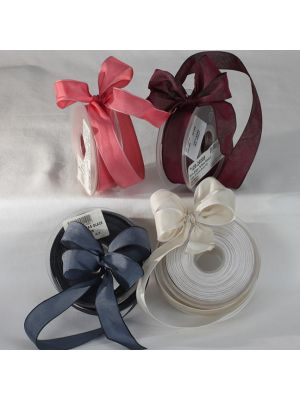 Wire Edge Taffata Ribbon