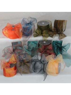 Crystal Organdy Ribbon 3 inch